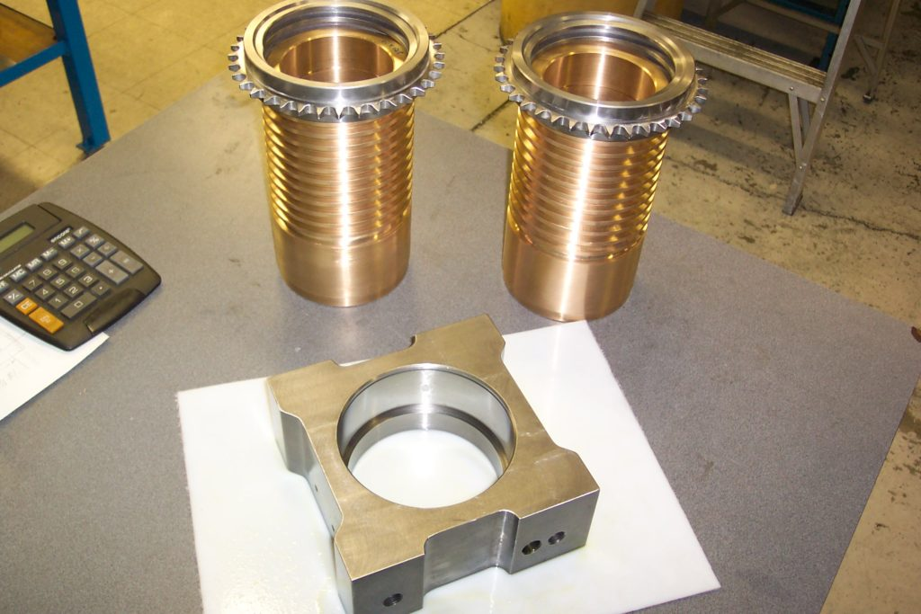 Threaded Gears - Cable Systems
